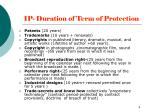 ip duration of term of protection