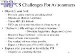 cs challenges for astronomers