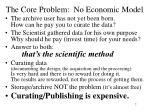 the core problem no economic model