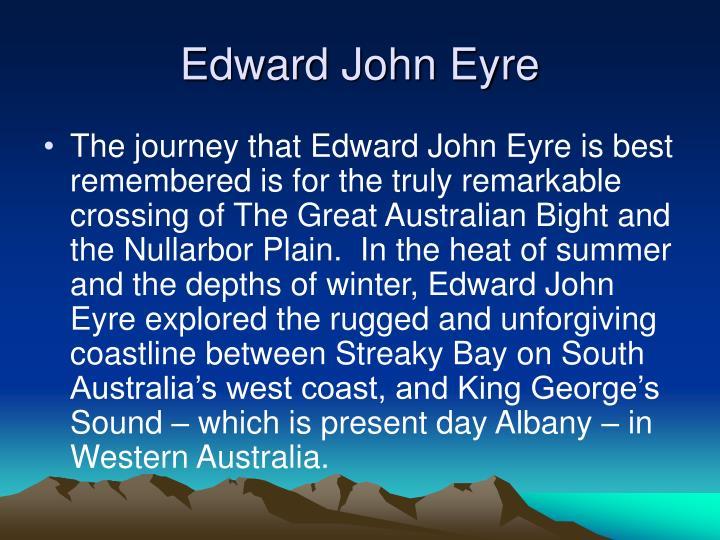 Edward john eyre1