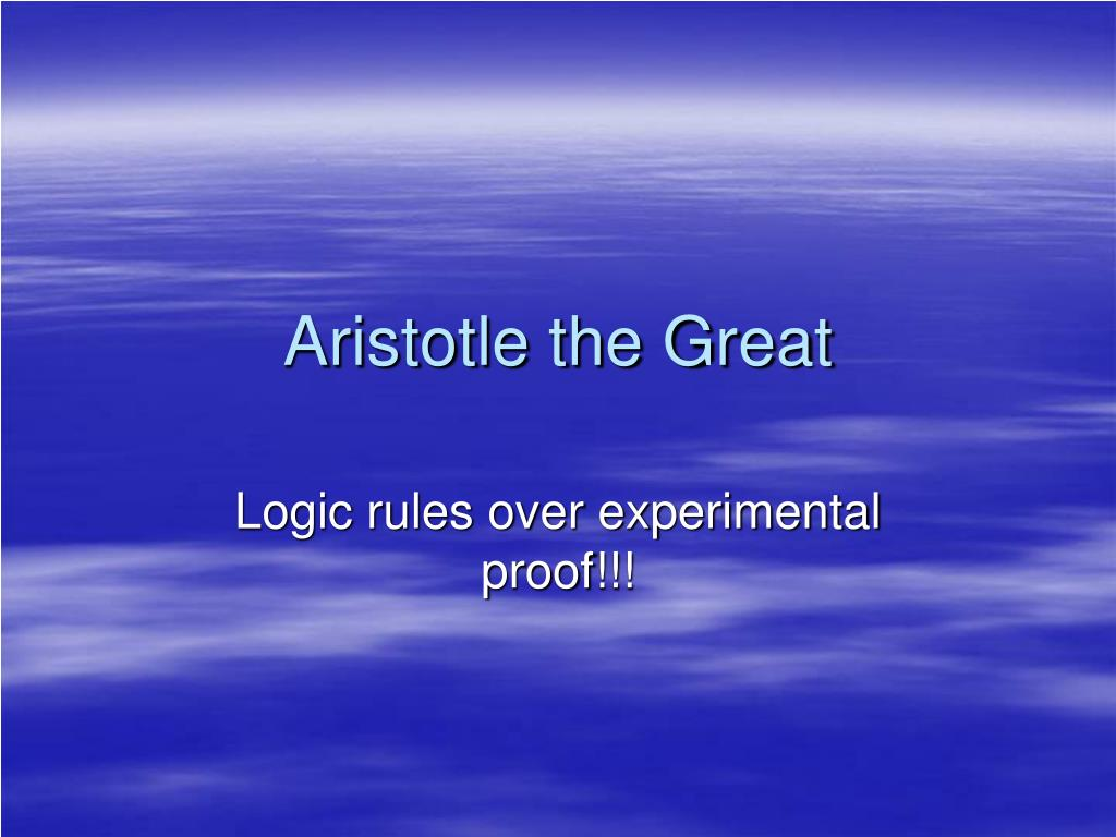 aristotle the great l.