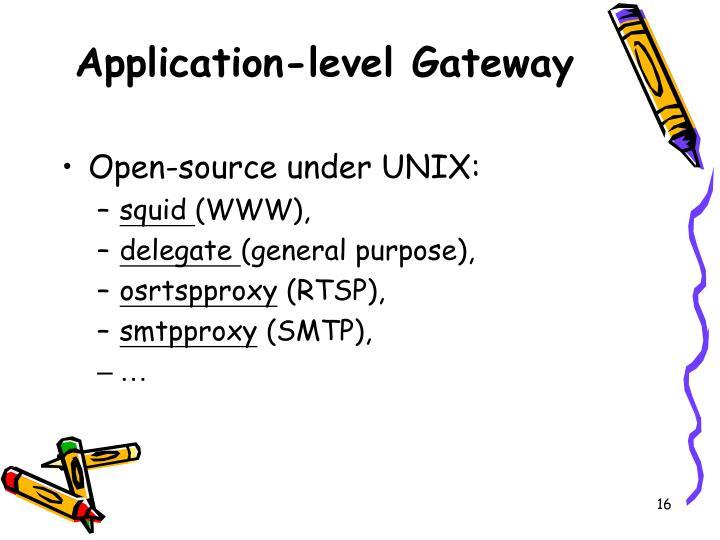 Application-level Gateway