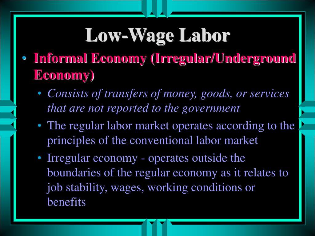 Low-Wage Labor