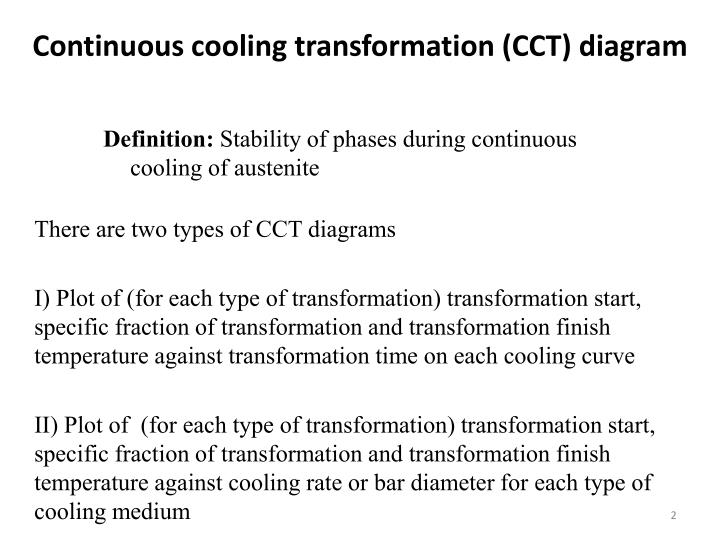 Ppt continuous cooling transformation cct diagrams powerpoint continuous cooling transformation cct diagram ccuart Images