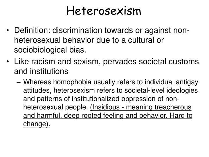 Heterosexism