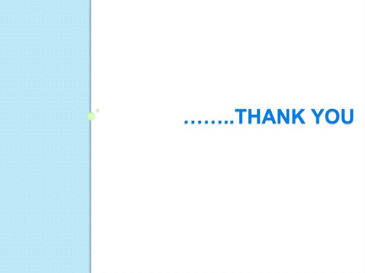 ……..thank You