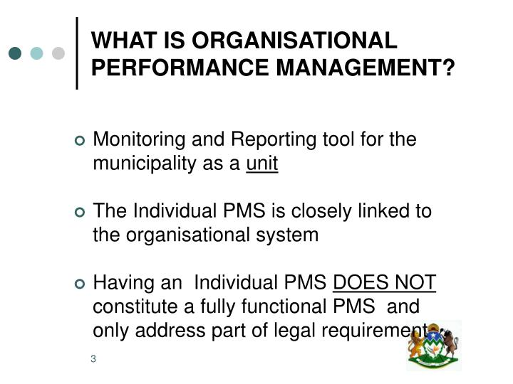organizational performance management system At management systems, we have a unique approach to organizational structure that focuses on three distinct, yet related levels: macro structure – the boxes on an organization chart and how they are arranged.