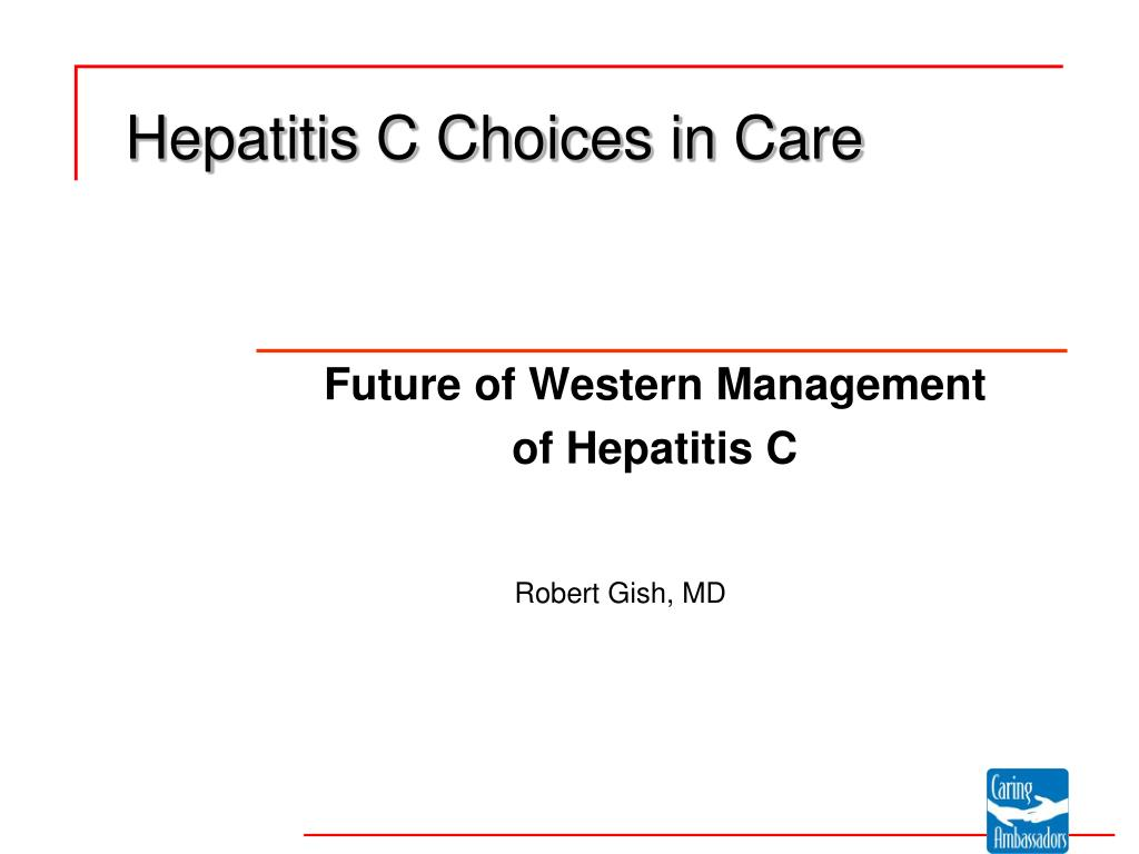 hepatitis c choices in care l.