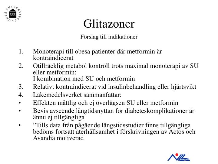 Glitazoner