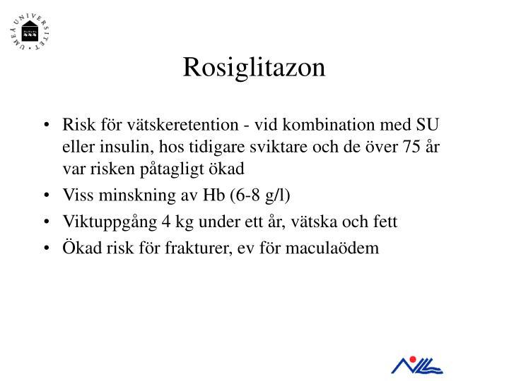 Rosiglitazon