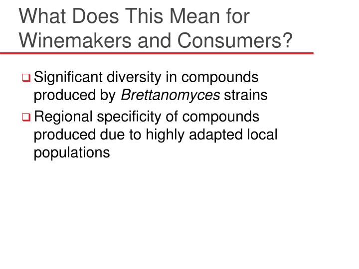 What Does This Mean for Winemakers and Consumers?
