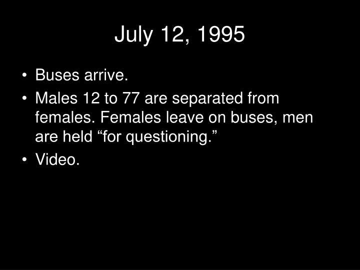 July 12, 1995