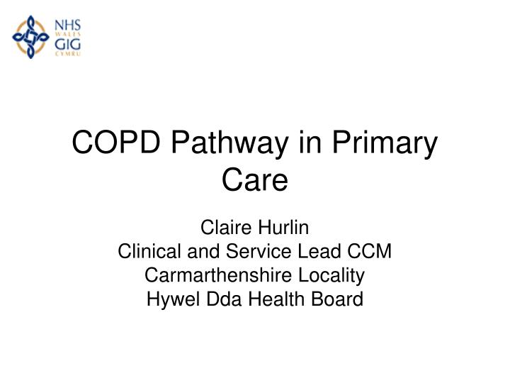 copd pathway in primary care n.