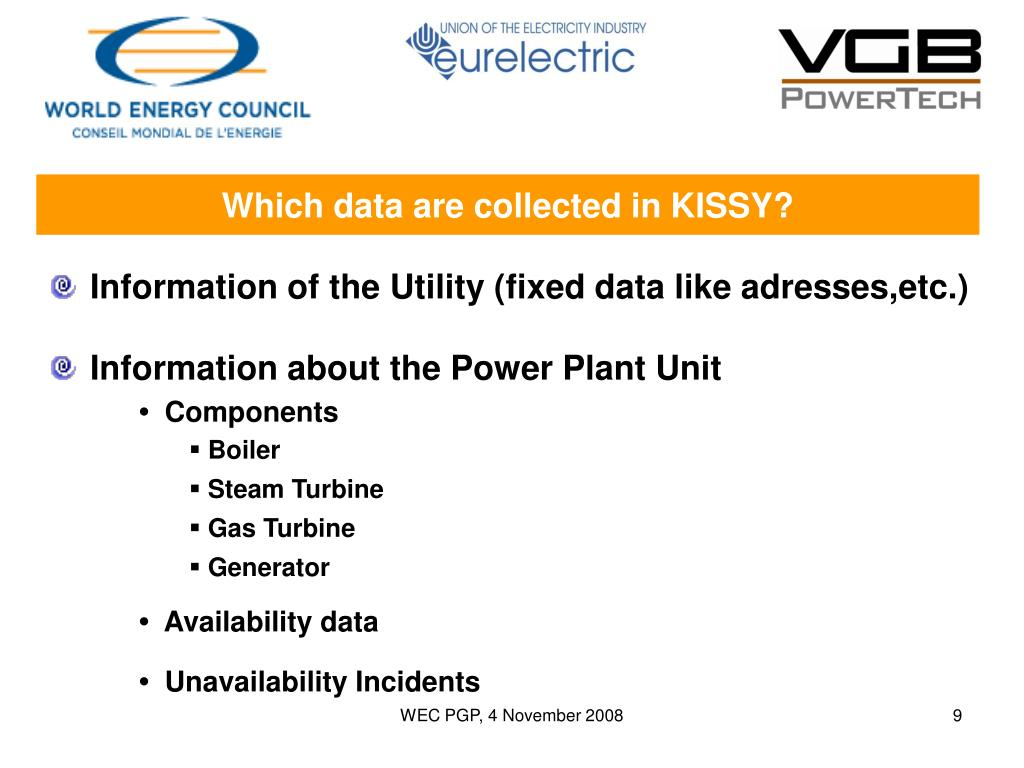 Which data are collected in KISSY?