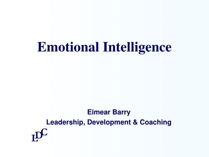 emotional intelligence n.
