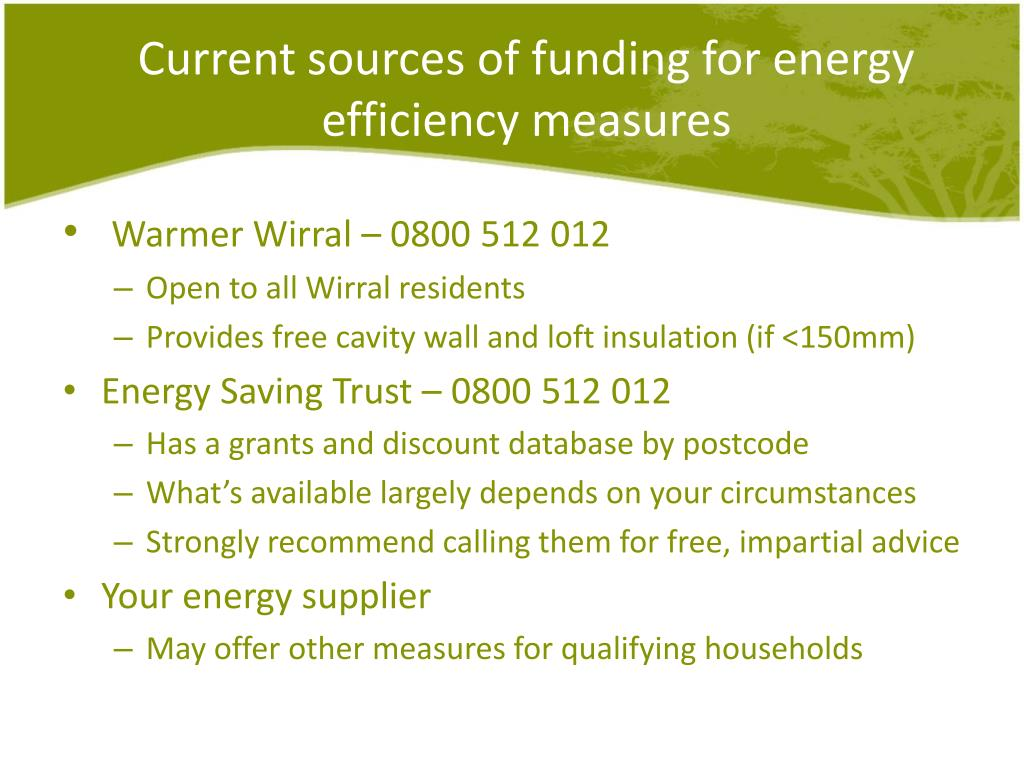 Ppt Energy Efficiency And Domestic Renewables What Works