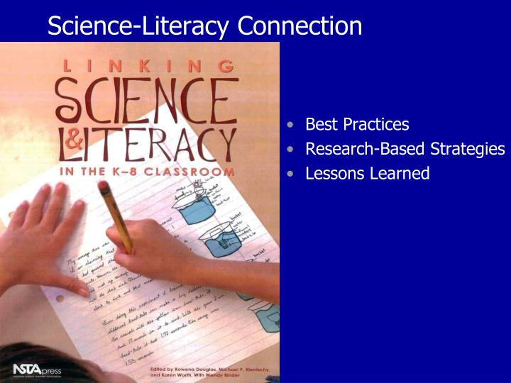 Science literacy connection