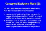 conceptual ecological model 2
