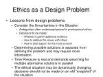 ethics as a design problem3