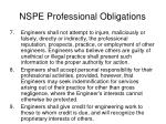 nspe professional obligations1