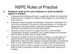 nspe rules of practice3