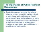 the importance of public financial management3