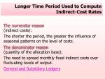 longer time period used to compute indirect cost rates