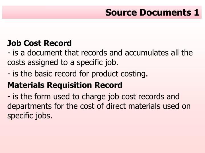 Source documents 1