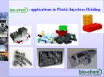 applications in plastic injection molding1