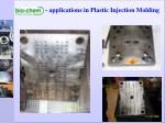 applications in plastic injection molding8