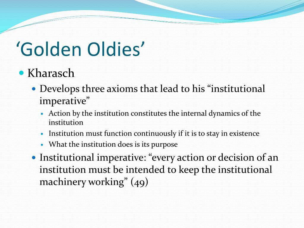 'Golden Oldies'