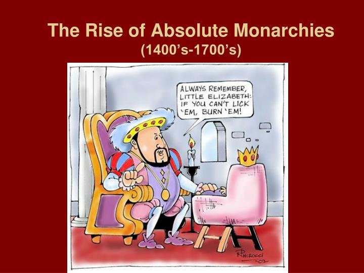 absolute vs new monarchs essay Compare and contrast - absolute and parliamentary monarchy compare and contrast – absolute and parliamentary monarchy essay france was the model for this new.