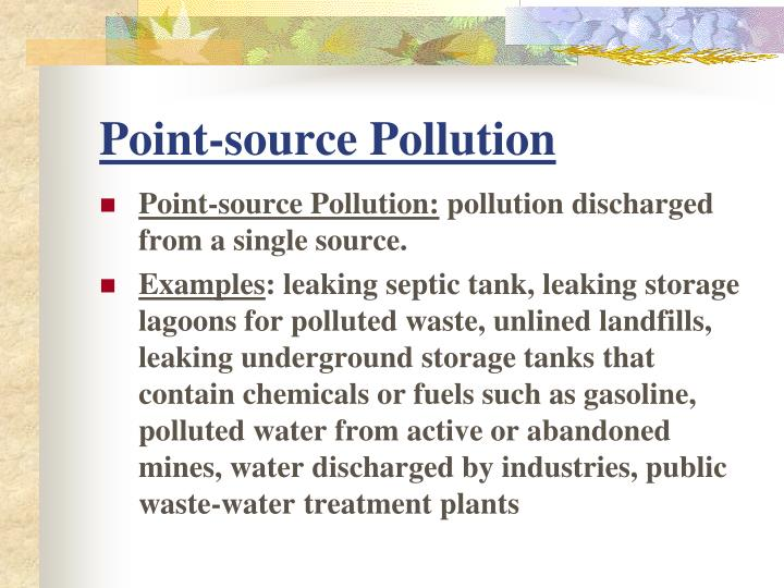 Ppt Chap 11 Sect 3 Water Pollution Powerpoint Presentation Id