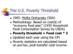 the u s poverty threshold28