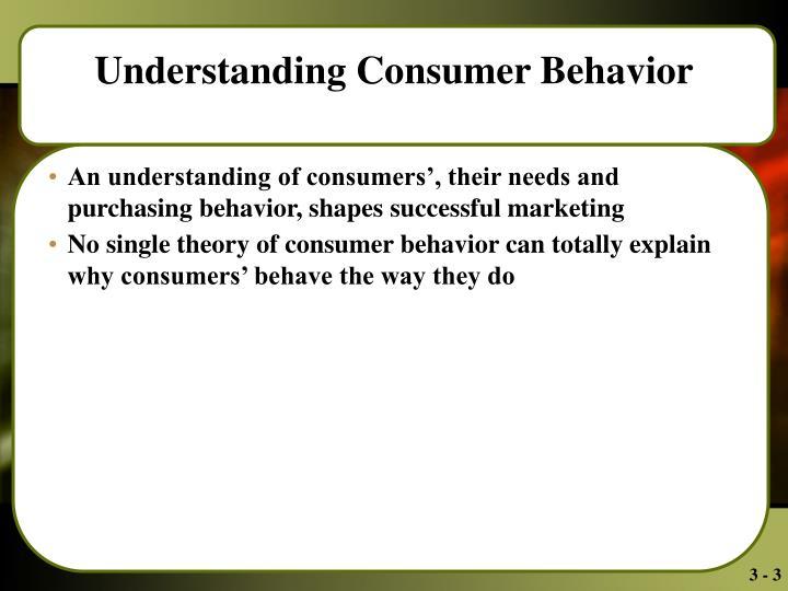 understanding consumers behavior Understanding consumer behavior june 28, 2012 by david geddes leave a comment understanding customers it's easier with analytics.