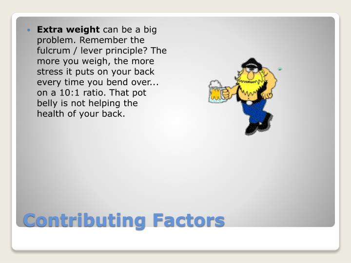 Extra weight