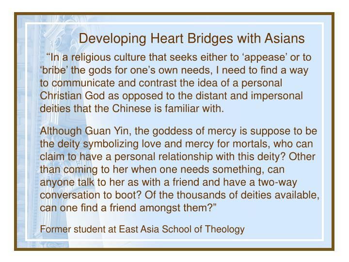 Developing Heart Bridges with Asians