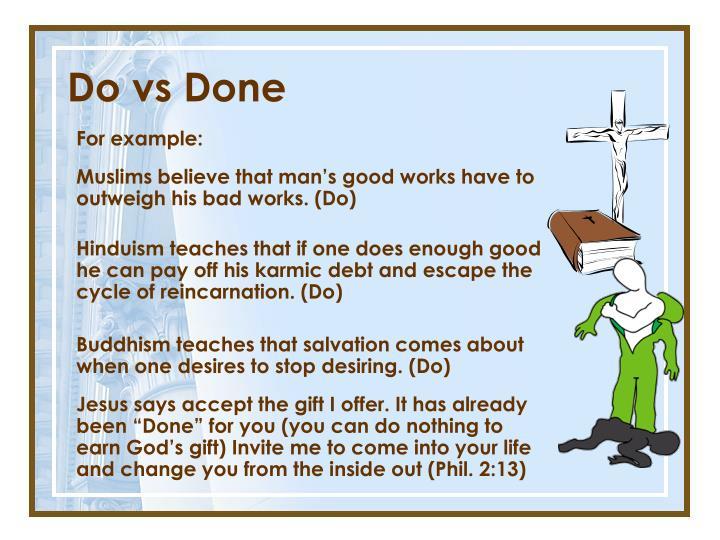 Do vs Done
