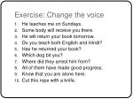 exercise change the voice