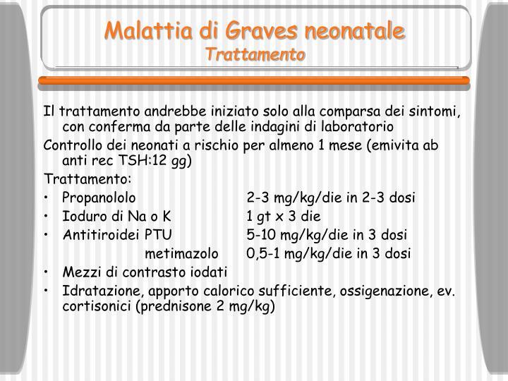 Malattia di Graves neonatale