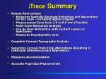 i trace summary
