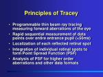 principles of tracey