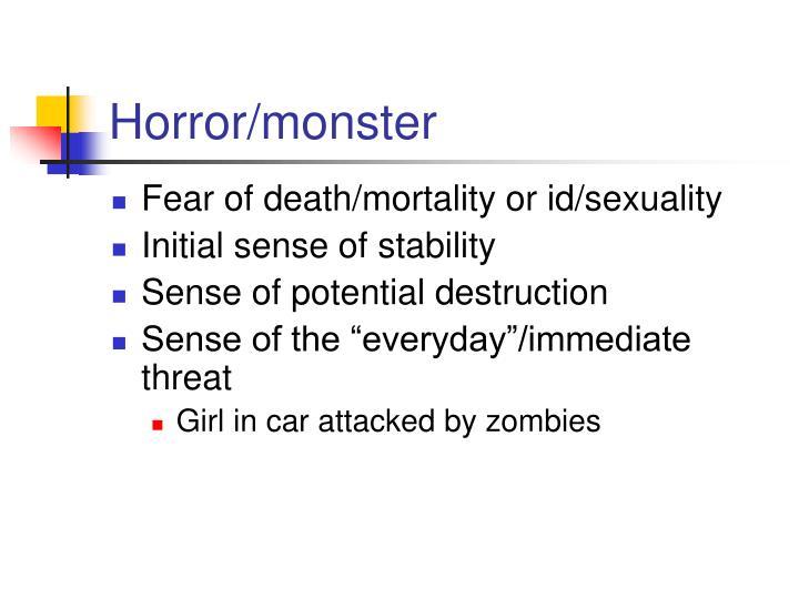 Horror/monster