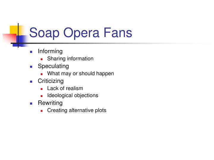 Soap Opera Fans