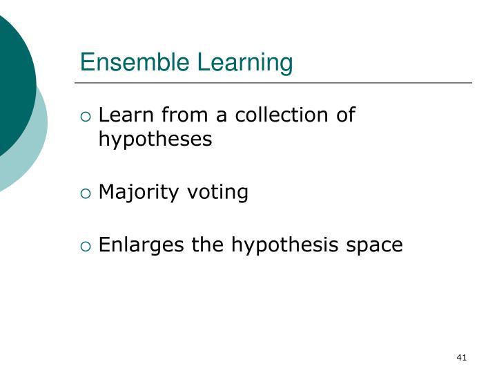 Ensemble Learning