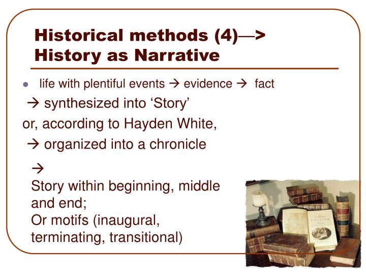 Historical methods (4)