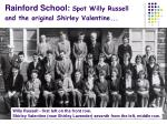 rainford school spot willy russell and the original shirley valentine