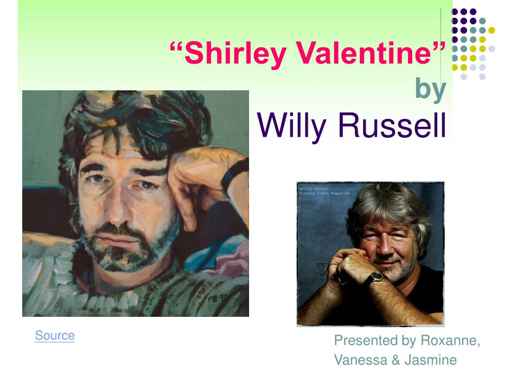 shirley valentine by willy russell l.