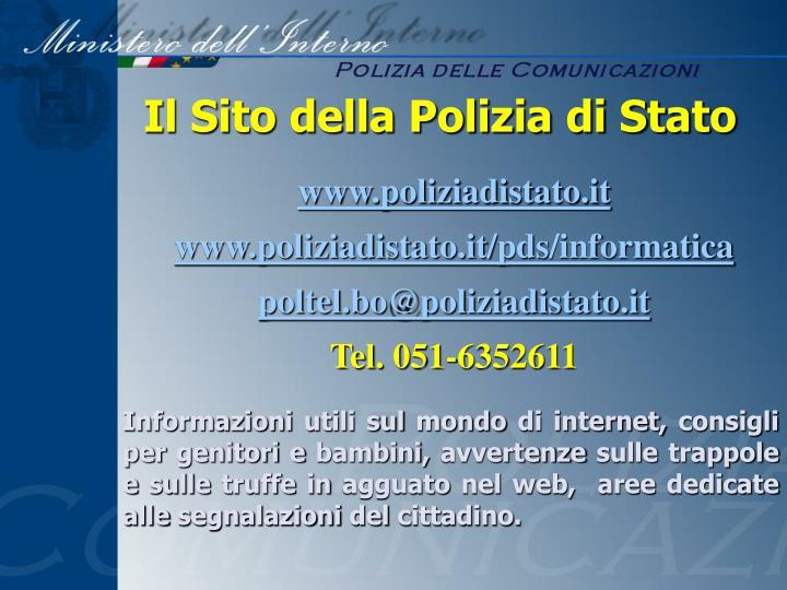 Il Sito della Polizia di Stato
