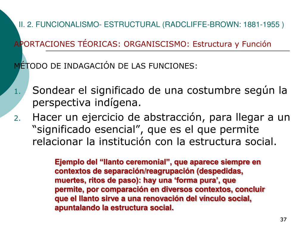 Ppt Tema 4 El Empirismo Y Las Antropologías Funcionalistas